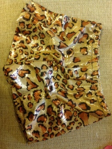 Cheetah print hot pants