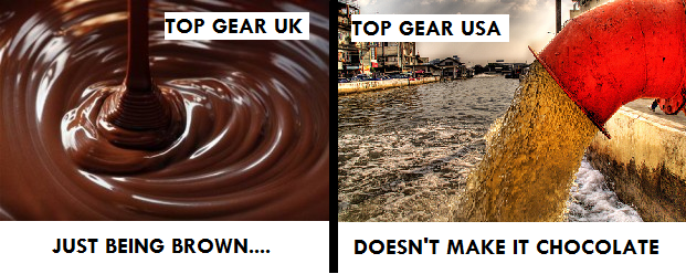 Top Gear UK is better than Top Gear USA