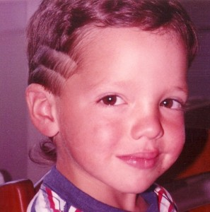Peter Monaco in Kindergarten with Steps and a rat tail