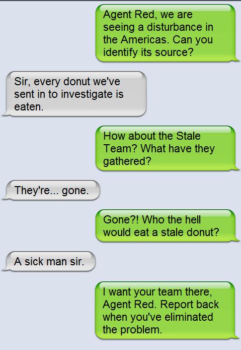 Funny conversation between 4 friends
