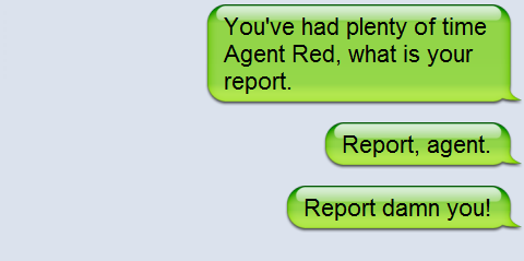 Jelly donut agent missing in action