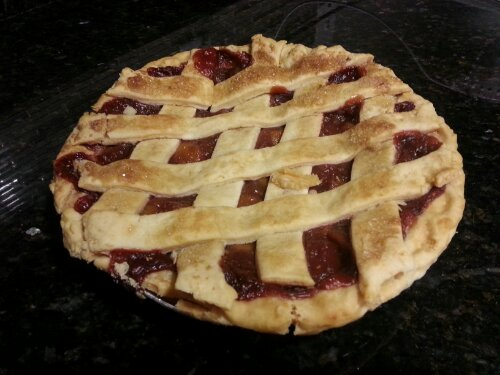 Whole foods raspberry peach pie