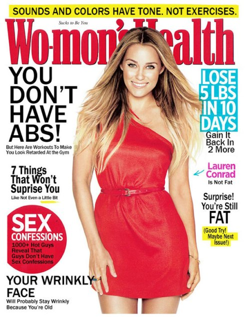 The truth about women's fitness magazines